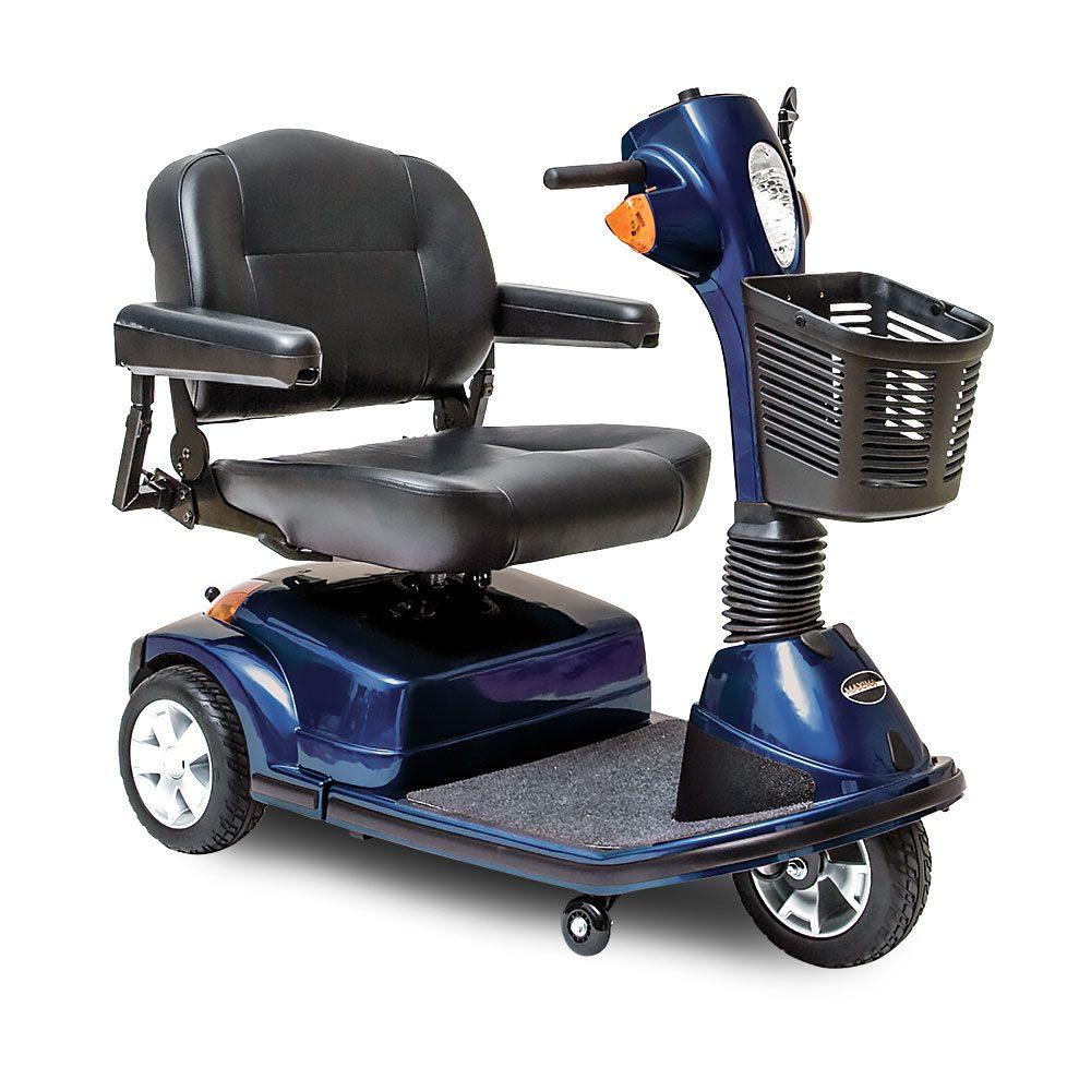 Maxima Heavy-Duty 3-Wheel Scooter