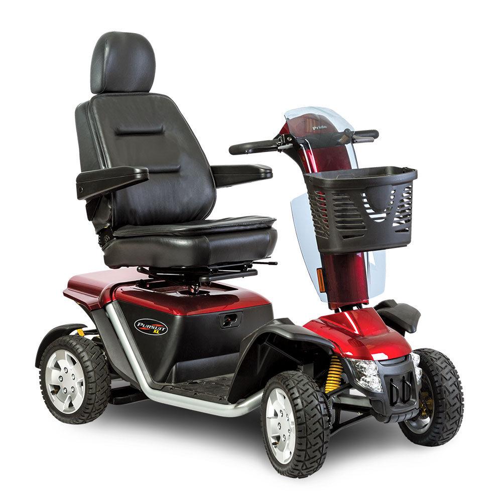 Pursuit XL Four-Wheel Motor Scooter