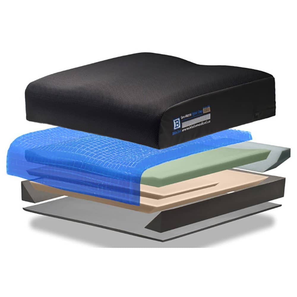 Geomatrix Hybrid Deep Low Profile Cushion