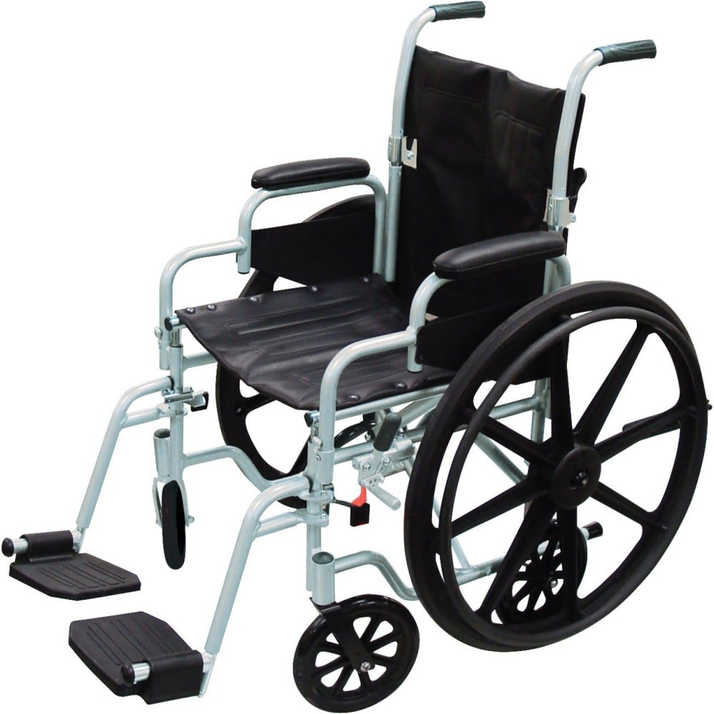 Poly-Fly Combo Wheelchair/Transport Chair (18″ x 16″)