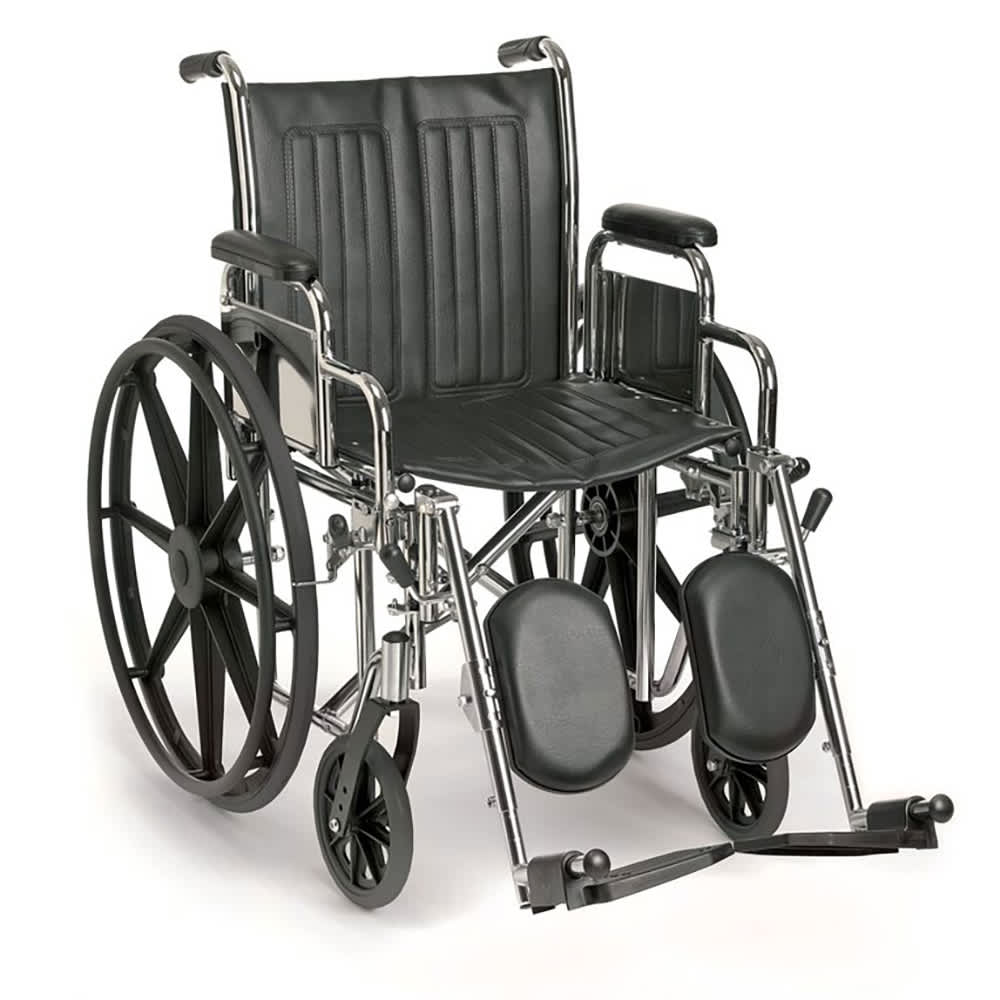 Breezy EC (22″ Wide) – Heavy Duty Hospital-Style Wheelchair