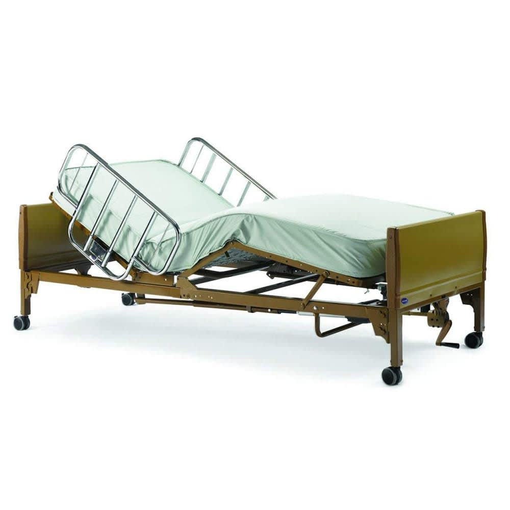 Full-Electric Low Hospital Bed (No Mattress)